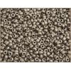 Seedbead 8/0 Metallic Brown Matte Terra Color